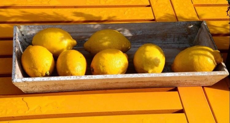 Maak zelf citroenlimonade