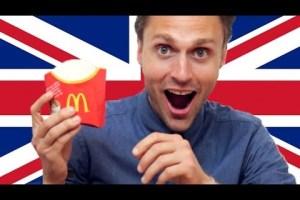 De eerste keer McDonalds